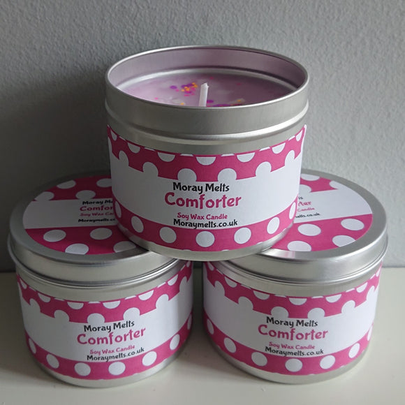 Comforter Scented Candle Tin - 175g or 75g