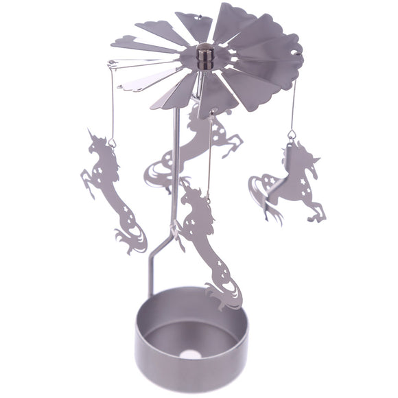 Unicorn Tea Light Powered Spinner