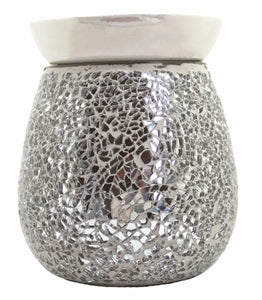 Airpure Electric Wax Melter - Silver Mosaic - Moray Melts