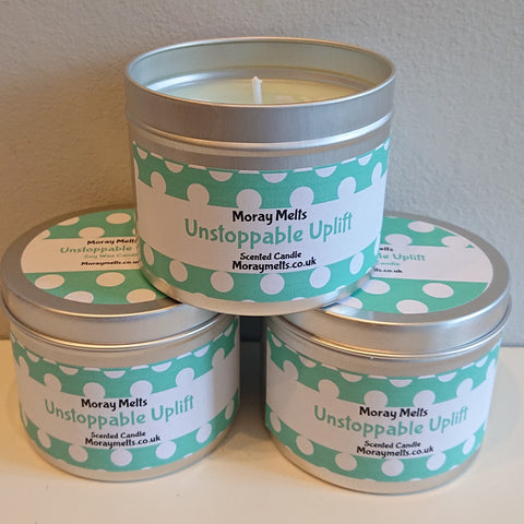Unstop Uplift Scented Candle Tin - 175g or 75g
