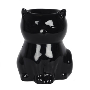 Black Cat Wax Melter / Oil Burner 12cm