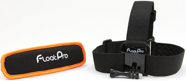 2-in-1 GoPro Head Strap Mount + Detachable Floaty