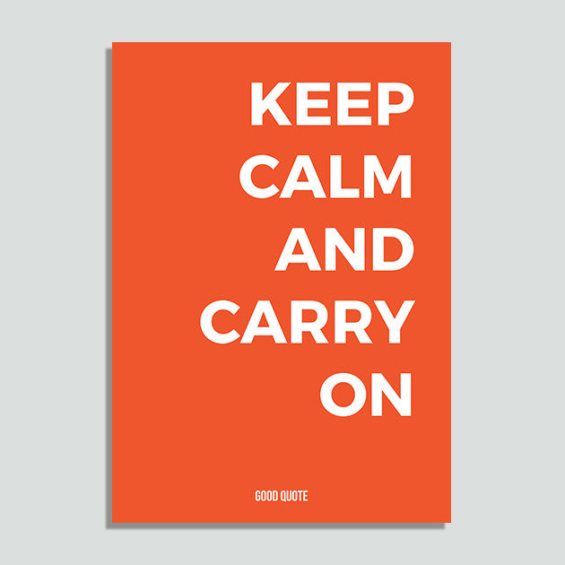 Just Colors - Keep Calm And Carry On