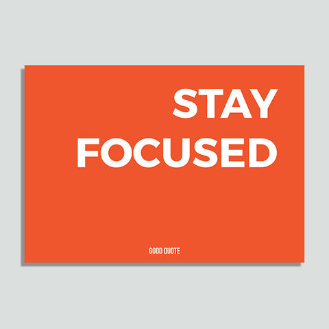 Just Colors - Stay Focused