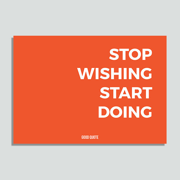 Just Colors - Stop Wishing Start Doing