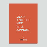 Leap, and the net will appear  - Poster