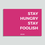 Just Colors - Stay Hungry Stay Foolish