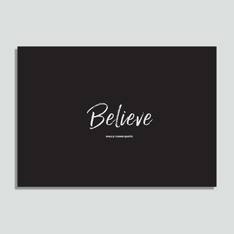 WallX - Believe - Poster