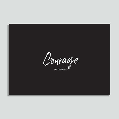 WallX - Courage - Poster