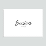WallX - Sunshine - Poster