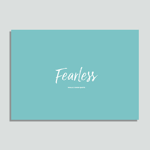 WallX - Fearless - Poster