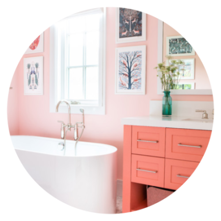 7 Ideas for Decorating with the Colour Coral