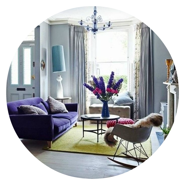Purple Power: Decorating with Ultra Violet