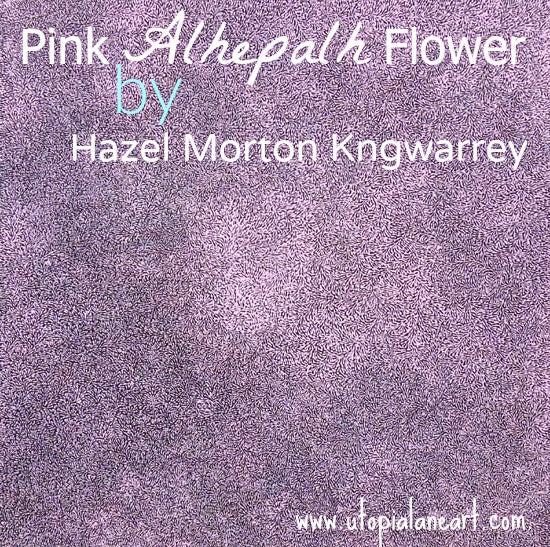 Appreciating Finer Things... Pink Alhelpalh flower by Hazel Morton Kngwarrey at Utopia Lane Art
