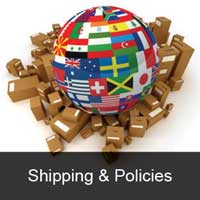 Shipping and policies