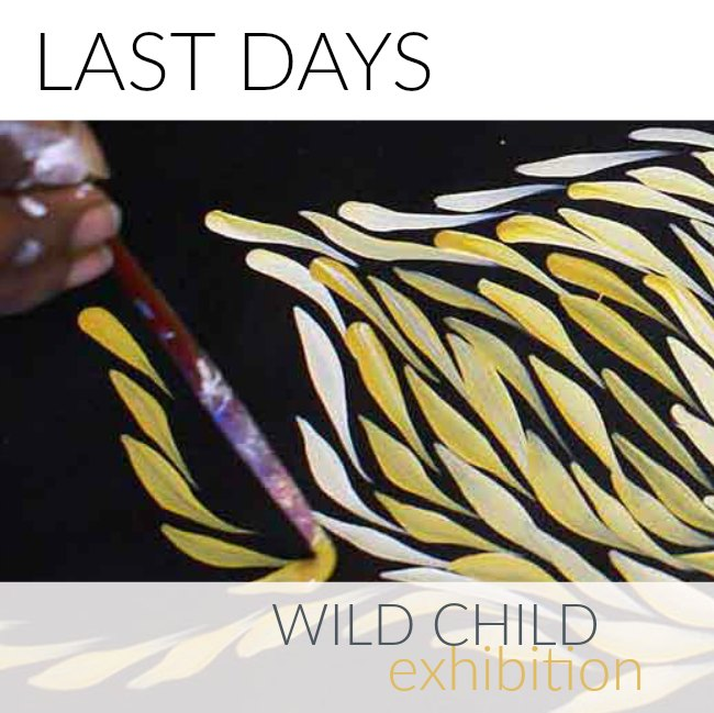 Wild Child Exhibition ends soon