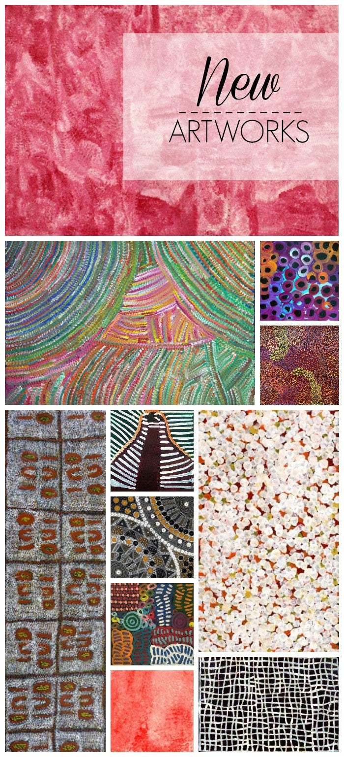 New Aboriginal art to choose from