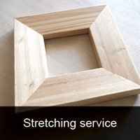 Stretching framing services Melbourne