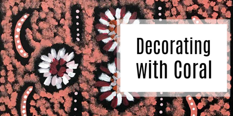 Colour Series: Decorating with Coral