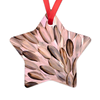 Umber Leaves Star Ornament-by-Desert Doll Designs-Ornament-at-Utopia-Lane-Gallery #AboriginalArt #Desert Doll Designs