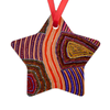 Elsie Star Ornament-by-Desert Doll Designs-Ornament-at-Utopia-Lane-Gallery #AboriginalArt #Desert Doll Designs