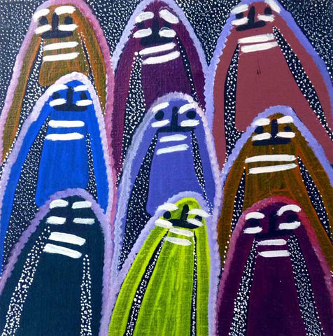 Atham-areny Story by Angelina Ngale (Pwerle). Shop from Utopia Lane Art #AboriginalArt