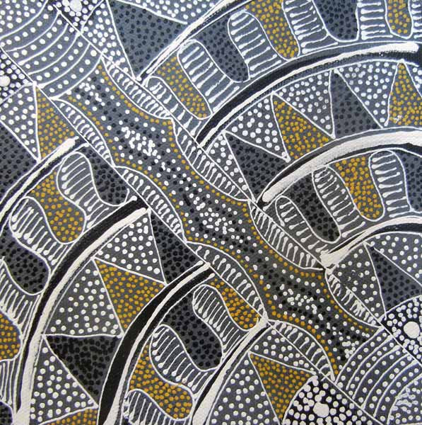 Awelye for Alpar Seed, Bush Plum & Mulga Seed by Alvira Bird. Shop from Utopia Lane Art #AboriginalArt