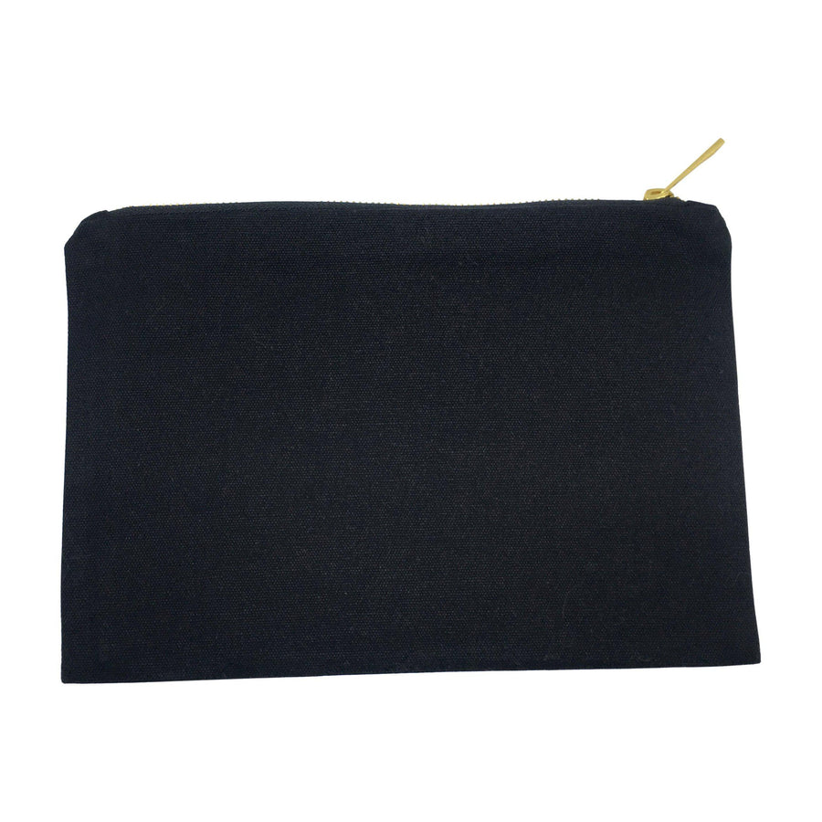 Charcoal Lindsay Cosmetic Bag
