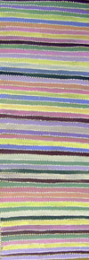 Yam Dreaming by Greeny Purvis Petyarre by Greeny Purvis Petyarre, 120cm x 45cm. Australian Aboriginal Art.