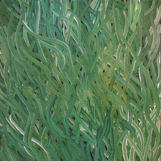 Grass Seed Dreaming by Barbara Weir (SOLD)