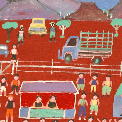 Harts Range Races by Dinny Kunoth Kemarre (SOLD)
