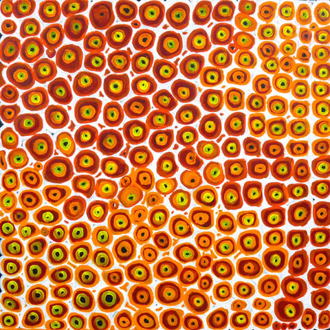 Soakage by Lena Pwerle. Shop from Utopia Lane Art #AboriginalArt