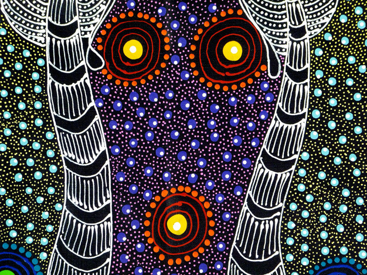 Dreamtime Sisters by Colleen Wallace Nungari  (SOLD)