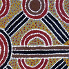 Ahakeye (Bush Plum) Dreaming by Lindsay Bird Mpetyane by Lindsay Bird Mpetyane, 60cm x 60cm. Australian Aboriginal Art.