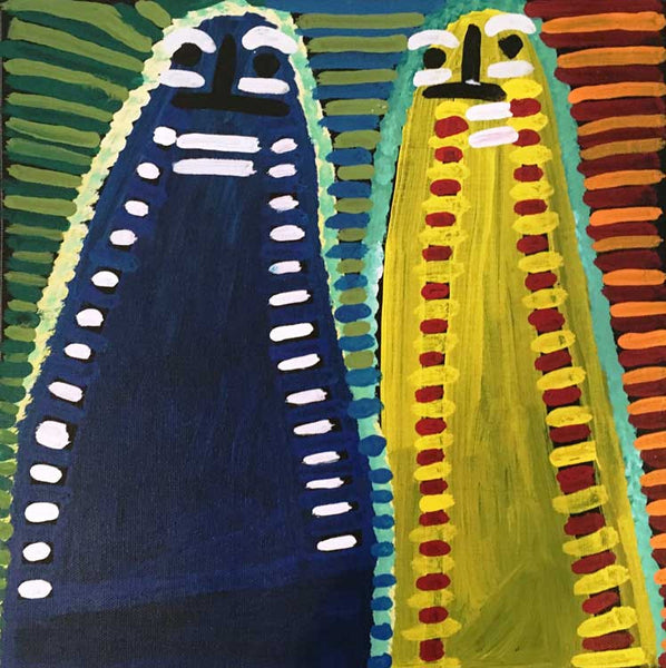 Atham-areny Story by Angelina Ngale (Pwerle) (SOLD). Shop from Utopia Lane Art #AboriginalArt