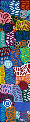 My Mother's Country by Betty Mbitjana. Shop from Utopia Lane Art #AboriginalArt