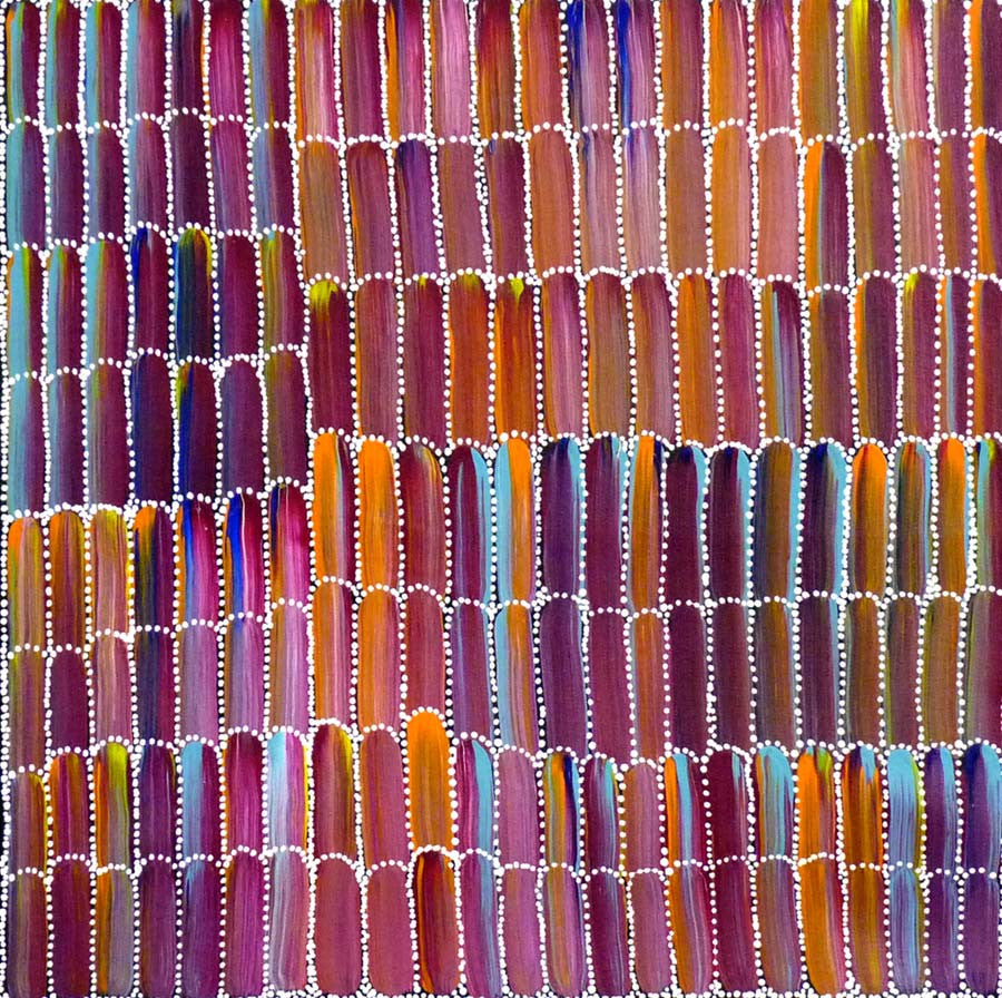 Anaty (Desert Yam) by Jeannie Mills Pwerle (SOLD)