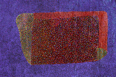 Bush Plum Dreaming by Josie Petrick Kemarre (SOLD)