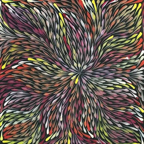 Wild Flowers by Sacha Long Petyarre. Shop from Utopia Lane Art #AboriginalArt