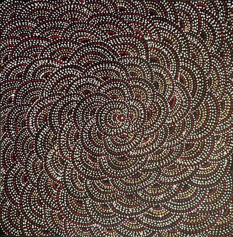 Yerramp (Honey Ant) Dreaming by Nora Petyarre. Shop from Utopia Lane Art #AboriginalArt