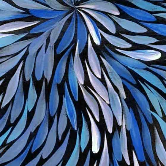 Yam Flower by Janet Golder Kngwarreye
