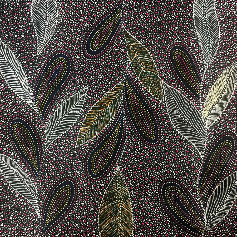 Women's Business by Susan Hunter by Susan Hunter, 30cm x 30cm. Australian Aboriginal Art.