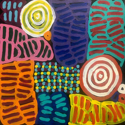 My Mother's Country by Betty Mbitjana (SOLD)