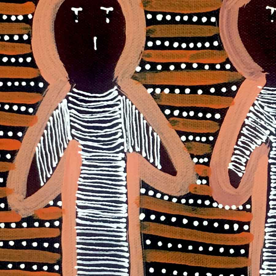 Women's Ceremony by Hazel Morton Kngwarreye