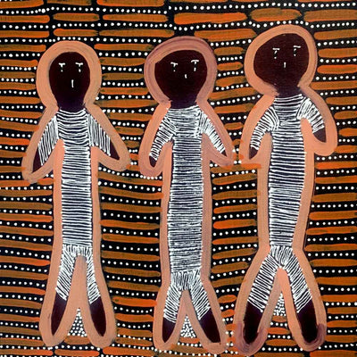 Women's Ceremony by Hazel Morton Kngwarreye (SOLD)