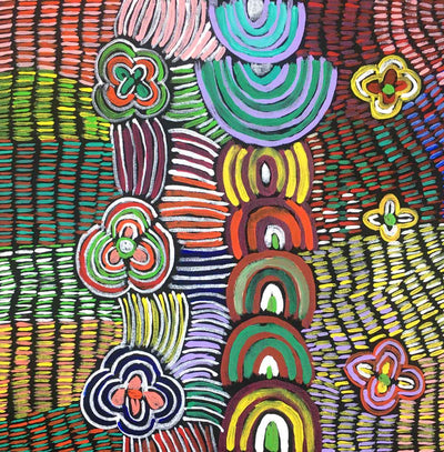 Alhalkere Country by Josie Kunoth Petyarre (SOLD)