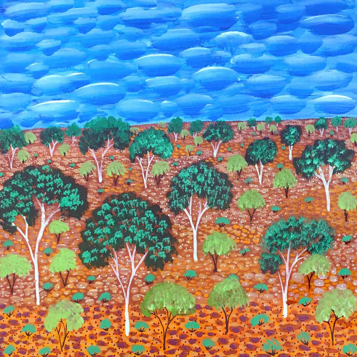 My Country by Selina Teece, Australian Aboriginal Art