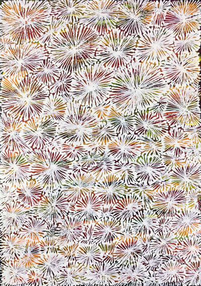 Country by Lucky Morton Kngwarreye. Australian Aboriginal Art.
