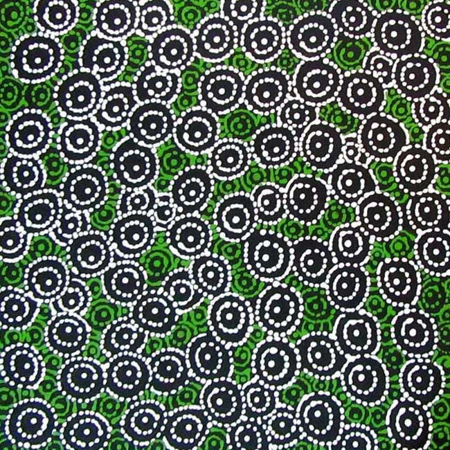 Iylenkyla by Jilly Jones Petyarre, 30cm x 30cm. Aboriginal Painting. #AboriginalArt #UtopiaLane