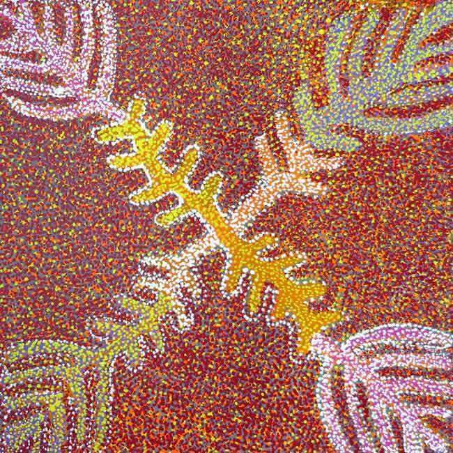 Tharrkarr (Honey Grevillea) by Doreen Payne Petyarre